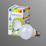 LED lámpa E14 3watt - Gömb 230° Warm white - Meleg fehér (PL2037)