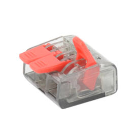 3-Pólusú nyitható kábelösszekötő 0,5mm²-4mm²  15db/doboz