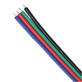 Négyeres 0,35 kábel RGB LED szalaghoz