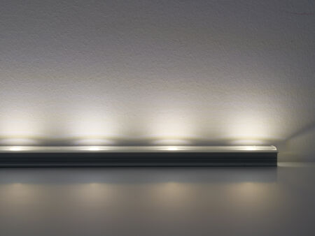 aluminium profil, rejtett led világítás, stukkó - pannonled.hu